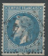 Lot N°47149  N°29B, Oblit GC 3314 Saudrupt, Meuse (53), Ind 4 - 1863-1870 Napoleon III With Laurels