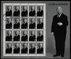 USA - Kleinbogen Mi-Nr. 2996 Mit Ersttagsstempel Alfred Hitchcock - Blocks & Kleinbögen