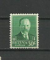 Lithuania 1934 - Mi. 392, MNH - Lituanie