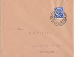 DR Brief EF Minr.481 SST Dresden 13.4.33 Ausstellung Gel. Nach Holland - Deutschland