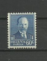 Lithuania 1934 - Mi. 393, MH - Lituanie