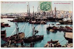 CONSTANTINOPLE  Le Port - Türkei
