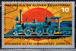GUINÉE EQUATORIALE 20 // CHEMIN DE FER // 1972 - Guinée Equatoriale