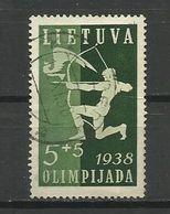 Lithuania 1938 - Mi. 417, Used - Lituanie