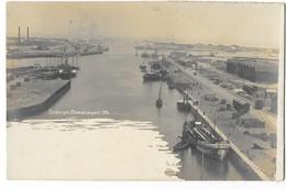 DUNKERQUE (59) Carte Photo Chenal Du Port - Dunkerque