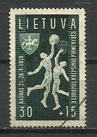 Lithuania 1939 - Mi. 430, Used - Lituanie