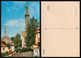 Mosque Minaret TRAVNIK 1974 Yugoslavia Bosnia Herzegovina - Postcard - Islam