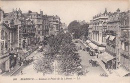 BIARRITZ - AVENUE ET PLACE DE LA LIBERTE  (lot Pat 63) - Biarritz