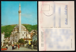 PRIZREN Prizreni Prizrend - SINAN Pasha - Mosque Džamija Minaret 1970's YUGOSLAVIA - Kosovo Kosova Serbia - Islam