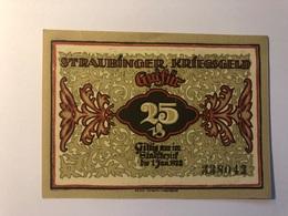 Allemagne Notgeld Straubing 25 Pfennig - Collections