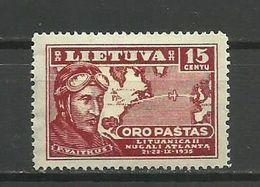 Lithuania 1936 - Mi. 405, MH - Lituanie