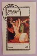 "NAGALAND  CAD URBA 30-12-1972 ""PEINTURE"" ANNEE 1972 - Emirats Arabes Unis"