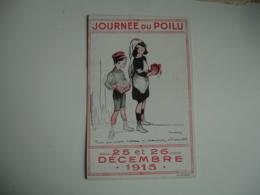 Guerre 14.18 Poulbot Illustrateur Journee Poilu - Weltkrieg 1914-18