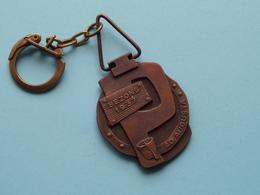 BEZONS 1937 Ad Augusta -  REILLY 1962 Per Angusta ( Key Chain - Porte Clé / Sleutelhanger / Zie - Voir Photo ) - Porte-clefs