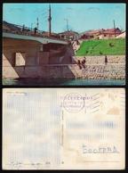 1966 FOCA / Mosque Džamija Minaret / BRIDGE River DRINA - YUGOSLAVIA - Bosnia / Postcard - Islam