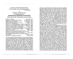 P 923. E.H. KOENRAAD STAPPERS - 50ste Abt AVERBODE - °MORTSEL 1922 /DENEMARKEN/BRAZILIË - +AVERBODE 1999 - Images Religieuses