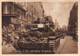 Thèmes - 10017 - Tank - Tezké Tanky - Prikopech - Cartoline