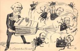 Thèmes - 10015 - Caricature Politique - La Chasse Aux Parasites - Altri