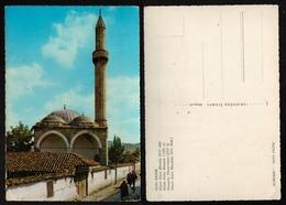1960's NOVI PAZAR- ALTUM ALEM Mosque Džamija Minaret - YUGOSLAVIA - SERBIA / Postcard - Islam
