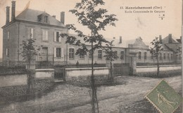 18- Henrichemont - Ecole Communale De Garçons - Henrichemont
