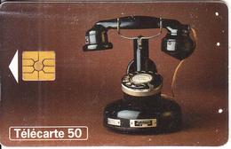FRANCE - Telephone PTT 24(20) 50 Units, Chip GEM2, 01/98, Used - Telephones