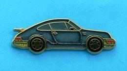 1 PIN'S //  ** PORSCHE 911 / CARRERA ** . (Ballard Made In France) . Attaches Double - Porsche