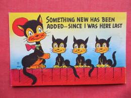 Black Cat  Humor     Ref 3235 - Humour
