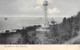 R080570 Leuchtturm Bei Schulau. Knackstedt And Nather. Series Luxusdruck - Cartes Postales