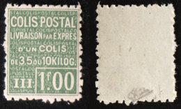COLIS POSTAUX N° 66  TB Neuf N** Cote 180€ Signé Calves - Parcel Post
