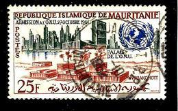 MAURITANIE 157° 25f Polychrome Admission Aux Nations Unies (10% De La Cote + 0,15) - Mauritanie (1960-...)
