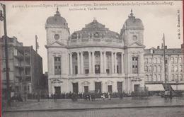 Oude Postkaart Le Nouvel Opera Flamand Antwerpen Hermans 419 De Nieuwe Nederlandsche Lyrische Schouwburg Vlaamse Anvers - Antwerpen