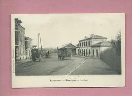 CPA - Liancourt Rantigny  - La Gare - Liancourt