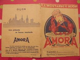 Protège-cahier Amora, La Moutarde De Dijon. Bizouard - Protège-cahiers