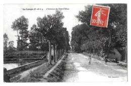 La Loupe  (Eure-et-Loir)   Avenue Du Gros Chêne      LES 2 CARTES - La Loupe