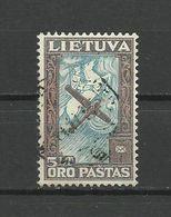 Lithuania 1934 - Mi. 390, Used - Lituanie