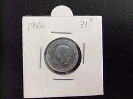 ESPAÑA 1966 ESTRELLA 1972 FRANCISCO FRANCO 0.50 PESETAS Cat 263 - 50 Centiem