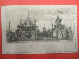 Jubilaums Ausstellung Wien 1898 Blumen Pavillon Marx, Haupt Cafe - Other