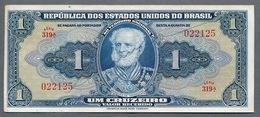 Brésil P 132  1 Cruzeiros 1944  *** AUNC  *** Série 319 N° 022125 - Brasilien