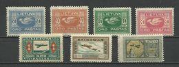 Lithuania 1921 - Mi. 102/08 , MH - Lituanie