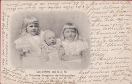 Les Enfants De S.A.R. La Princesse Joséphine De Hohenzollern (1901) Royalty La Famille Royal Princess Prinses Belgium - Familias Reales