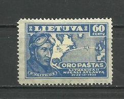 Lithuania 1936 - Mi. 407 , MH - Lituanie