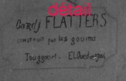 1941-ALGERIE Fort Flatters Photo Pierre RIGAUD à Constantine Format 8,7  X 11,7cm - Guerra, Militari