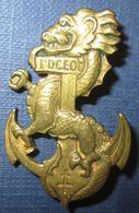 1° Division Coloniale D'Extrême Orient, Dos Lisse, 2 Anneaux - Armée De Terre