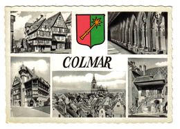 68 COLMAR En 5 Vues Et Blason Série Les Armoiries Editions Marasco Strasbourg - Colmar