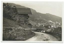 CARTE POSTALE SUISSE / MONTHEY ROUTE DE CHOEX - VS Valais