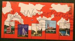 Verzamelblok Mooi Nederland (1) NVPH 2364 (Mi Block 91); 2005 Used Gebruikt Oblitere NEDERLAND NIEDERLANDE / NETHERLANDS - 1980-... (Beatrix)