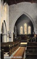 R081411 Interior. Eyam Church. Salisbury Ball. Sheffield - Postcards