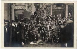 0037 BIRRERIA FOTO GRAZIADEI VENEZIA - SOLDATI  BERSAGLIERI - Cartes Postales