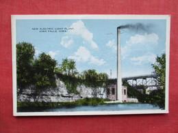 New Electric Light Plant  Iowa > Iowa City  > Ref 3235 - Iowa City
