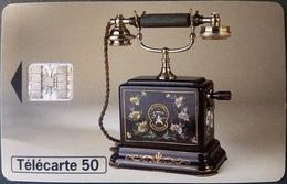 Telefonkarte Frankreich - Historische Telefone 1900 -  50 Units - 07/96 - Frankreich